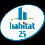 HABITAT 25 Logo