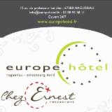 """EUROPE HOTEL *** SPA &  RESTAURANT """"CHEZ ERNEST"""""""