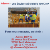 ADECCO BTP 92