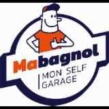 """SARL PITLANE - Enseigne """"Mabagnol, mon self-garage"""""""