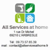 ALL SERVICES AT HOME