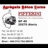 AGREGATS BETON CORSE